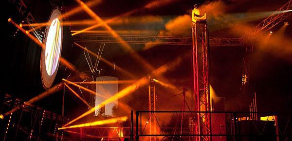 Alquiler servicio Técnico Concierto Festival EM Soundwave Menorca Robe Pointe